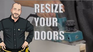 How to Cut Down a Door  |  Height and Width Adjustments