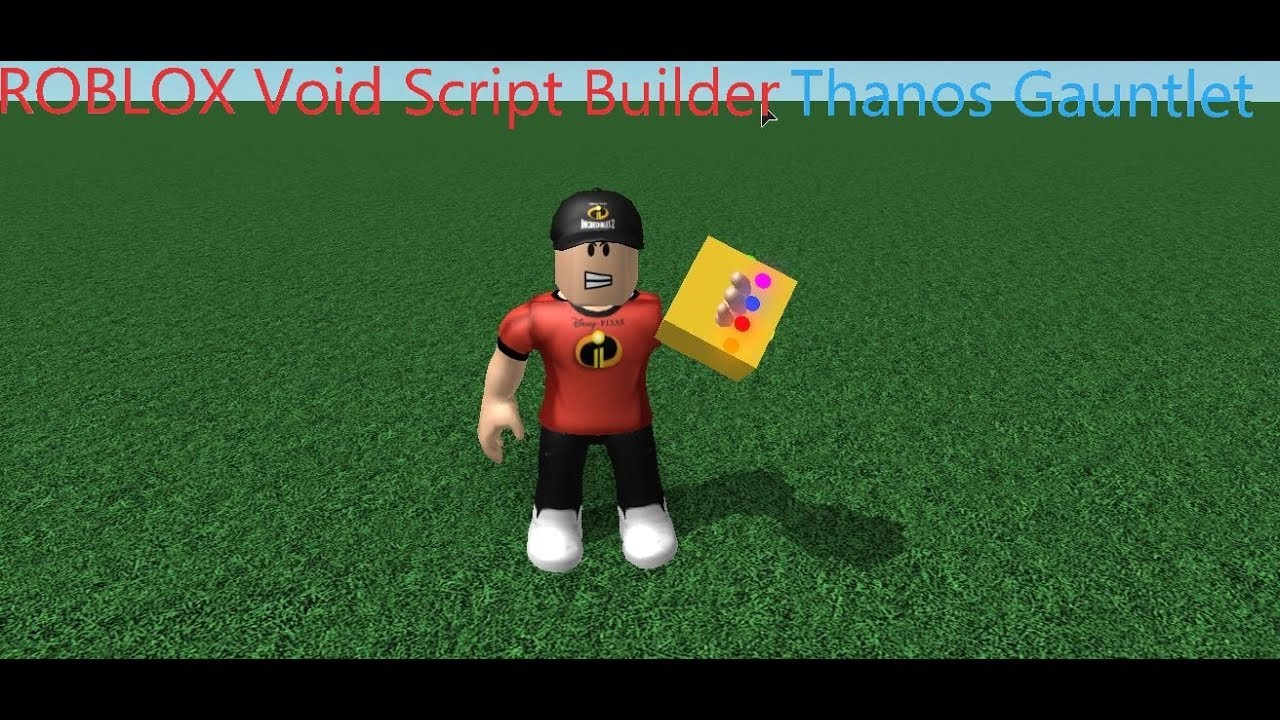 Roblox Thanos Script Pastebin
