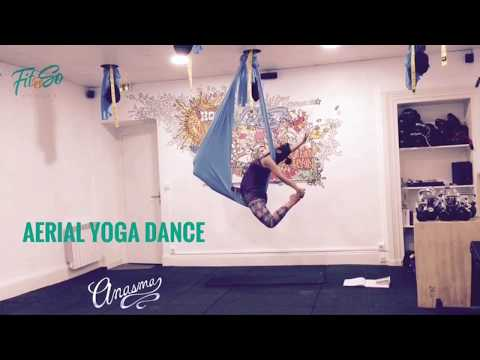 Aerial Yoga Dance by Anasma- My intention is help others express themselves through art