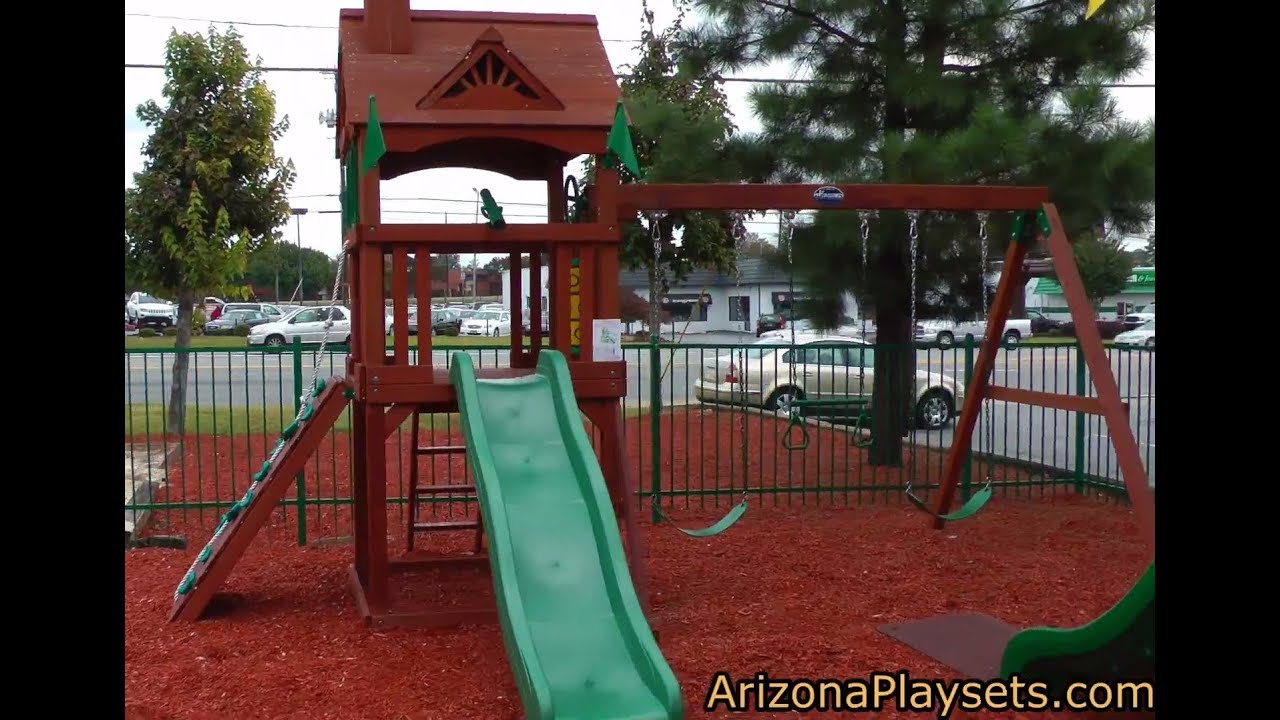 gorilla playsets nantucket swing set review from arizona playsets