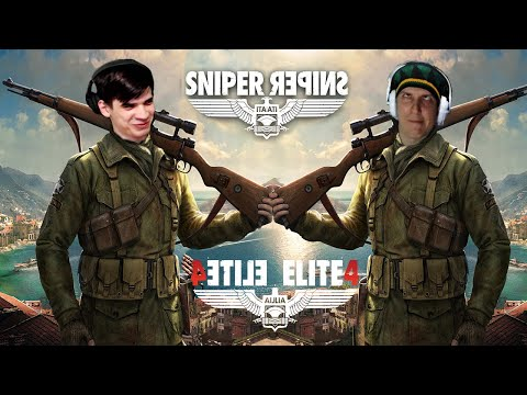 Sniper Elite 4 C Арсением Андреевичем Стребковым #3 (Стрим от 21.01.21)