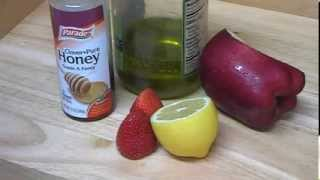 """Anti Aging Tips & How to Make Natural Lemon Honey Strawberry Homemade Face Mask for Mature Skin"" Thumbnail"