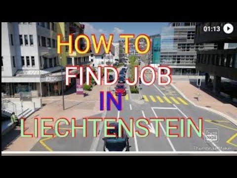 How to find Job in Liechtenstein