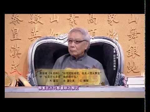 中华好诗词第二季第十三期 张仲宇助阵父亲打擂台