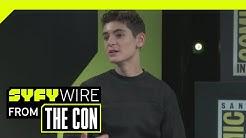 Gotham's David Mazouz (Batman) Weighs In On Final Season And F**k Batman | SDCC 2018 | SYFY WIRE