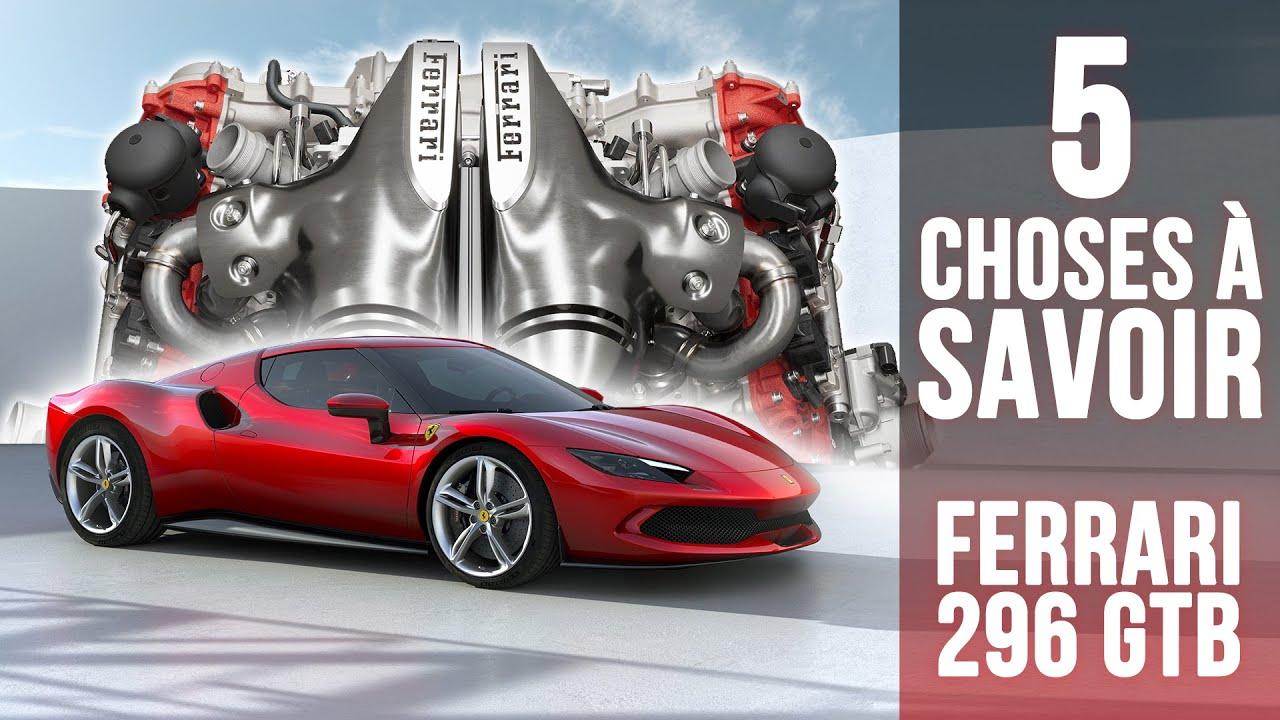 Download Ferrari 296 GTB, 5 choses à savoir sur la nouvelle sportive au moteur V6 hybride