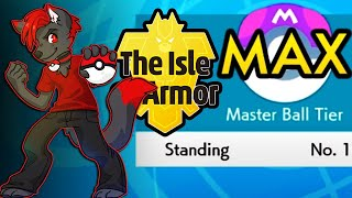 EPIC WIN STREAK TO GET INTO MASTER BALL TIER - Pokemon Sword and Shield Isle Of Armor Ranked Battles
