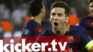 Spektakel in Tiflis - Neue Erfahrung auch für Messi - kicker.tv