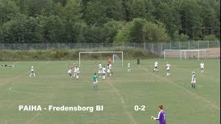 Kronborgs cup: Paiha - Fredensborg BI