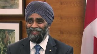 Minister Harjit Sajjan answers the question: Are you a badass?