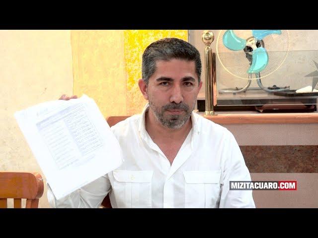 Juan Carlos Campos asegura que juicio político en su contra, no es por desvío de dinero