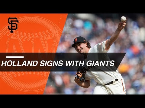 Derek Holland re-signs with the Giants