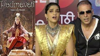 Akshay Kumar & Sonam Kapoor's SHOCKING Reaction On Padmavati Clash With Padman