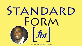 Writing Linear Equations: Standard Form [fbt] thumbnail