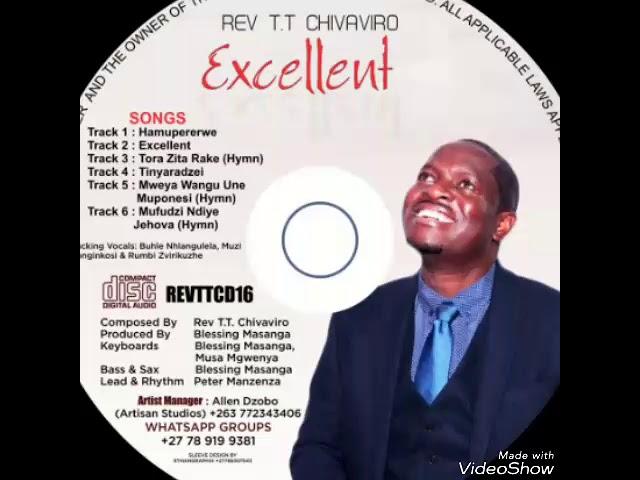 Mweya Wangu Unomuponesi (Hymn Audio): Rev T.T.Chivaviro 2019