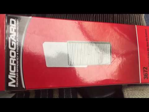 Nissan Frontier 2011 In Cabin Air Filter Replacement