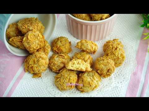 cornflakes-cookies-rangup-mudah-dan-sedap-|-resepi-biskut-cornflakes-simple-|-biskut-raya-2020