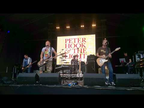 Peter Hook and the Light - Ceremony - Live at Dartford Music Festival 16:07:2017