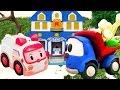 ГРУЗОВИЧОК ЛЕВА и детские игрушки! Машинки для детей: ДЕТСКИЙ КАНАЛ! Подснежники для Эмбер!