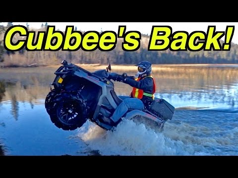 Cubbee's Back! - First ATV Trail Ride Adventure In 11 Weeks - Nov. 13, 2016