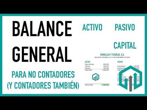 Balance General Paso A Paso Y Fácil 👈