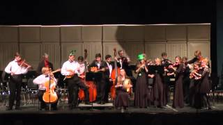 Britches Full of Stitches  - Tosa East Fiddle Ensemble of Wauwatosa East 2015 Fall Concert