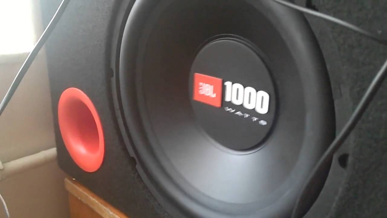 jbl 1000 watts kutu bas testi youtube. Black Bedroom Furniture Sets. Home Design Ideas