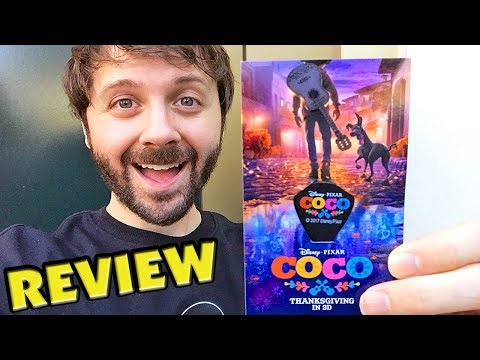 COCO Movie REVIEW & Early Screening at Disneyland (No Spoilers)