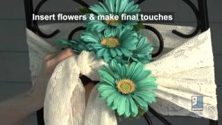 Do-it-yourself Wedding Projects - Reception Chair Decorating Ideas By Merri Cvetan