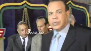 فيديو| طارق سليم وعادل هيكل وحسن حمدى فى عزاء الثعلب