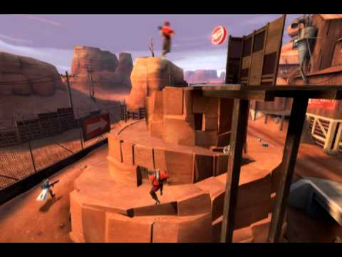 TF2 Replay: Control Point Domination