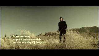 MARC ANTHONY-A QUIEN QUIERO MENTIRLE-SALSA