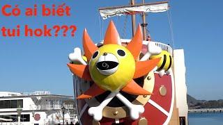 Tàu Hải Tặc Thousand Sunny Đã Ghé Nhật Bản|| ONE PIECE|| Cuộc Sống Nhật- HoangPhuc JP