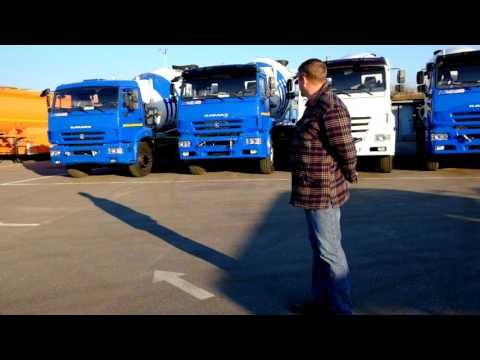Автобетоносмесители на шасси КАМАЗ
