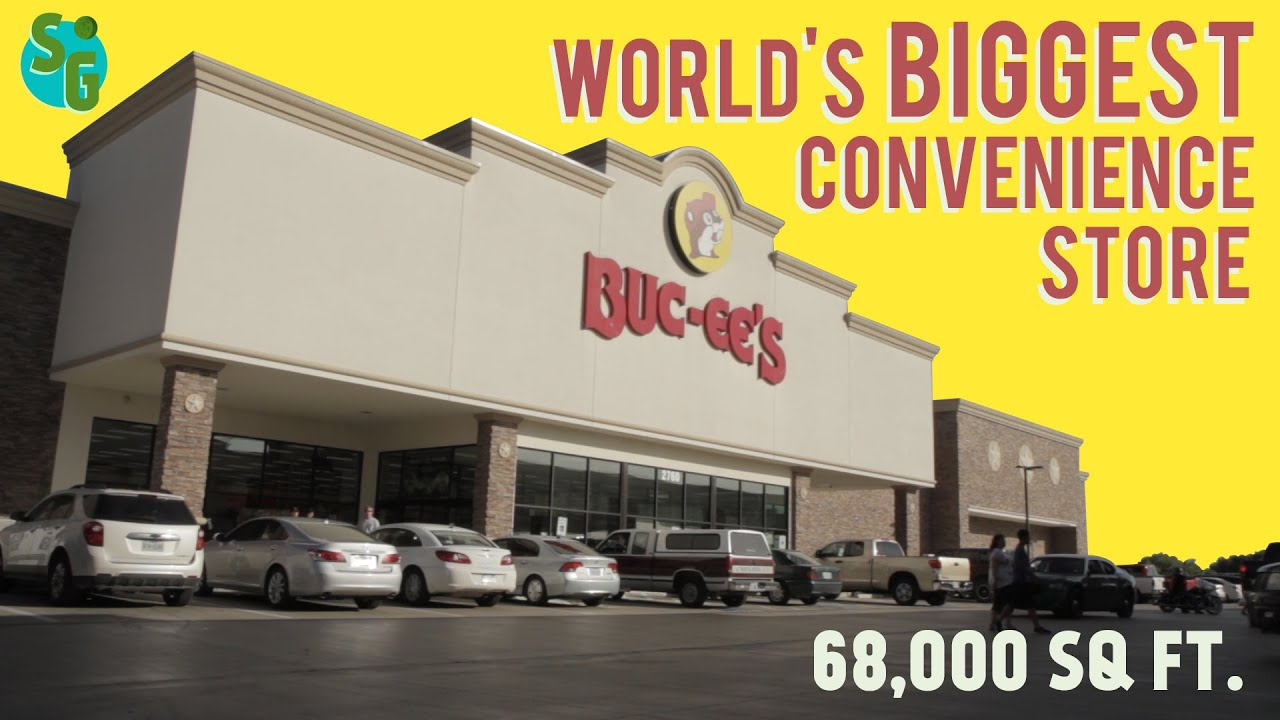 Buc ee 39 s the world 39 s biggest convenience store youtube - Start convenience store countryside ...