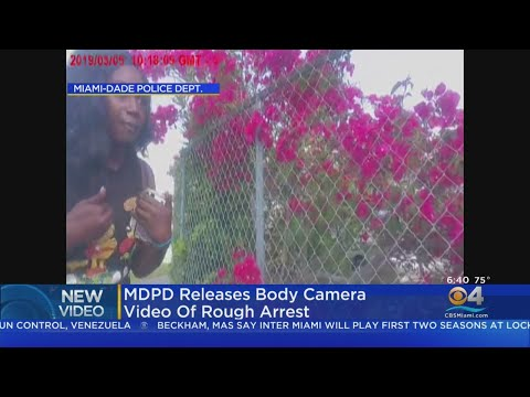 Miami-Dade Police Release Body Cam Of 'Rough Arrest'