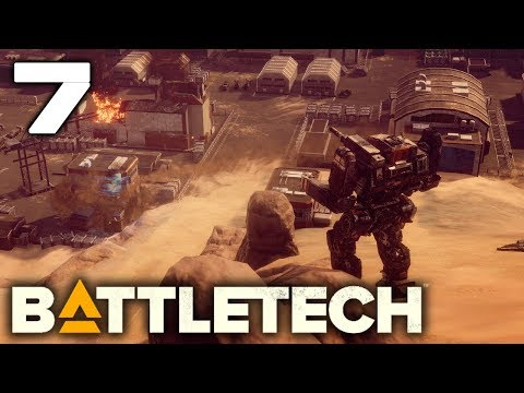 BATTLEFIELD EXPERIMENTATION | Battletech Let's Play Gameplay Full Release! #7