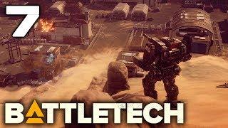 BATTLEFIELD EXPERIMENTATION | Battletech Let's Play Gameplay Full Release! #7