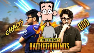 PUBG MOBILE CUSTOOM WITH CARRYMINATI GUNSHOT