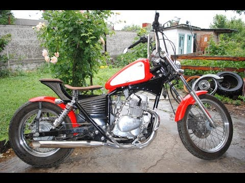 honda rebel 125 custom bobber mj custom company youtube. Black Bedroom Furniture Sets. Home Design Ideas