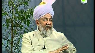 Liqa Ma'al Arab 21 April 1998 Question/Answer English/Arabic Islam Ahmadiyya