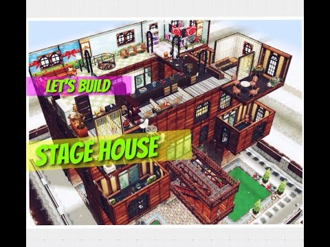 Sims freeplay House || Let's Build Stage House Traditional