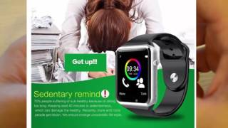 Smartwatch T50 простой обзор наручные часы Smart Watch