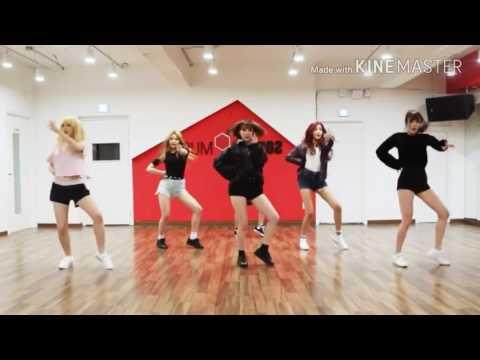 Gfriend (여자친구) | FINGERTIP | Mirror Slow (0.4) Dance Practice
