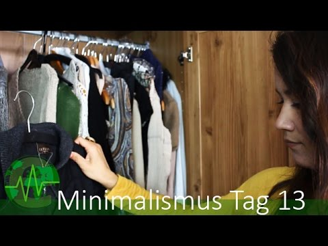Kleiderschrank ausmisten minimalismus challenge 13 for Youtube minimalismus