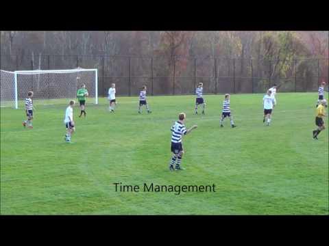 Hunter Mulvey (2020) Freshman year soccer highlights