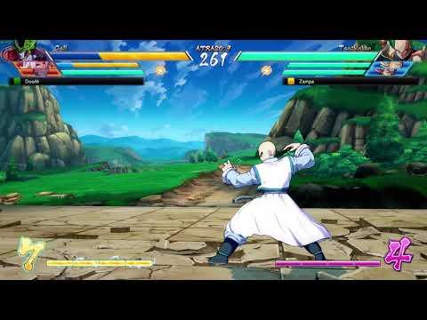 Dragon Ball Fighterz : Tenshinhan level 3 super glitch!