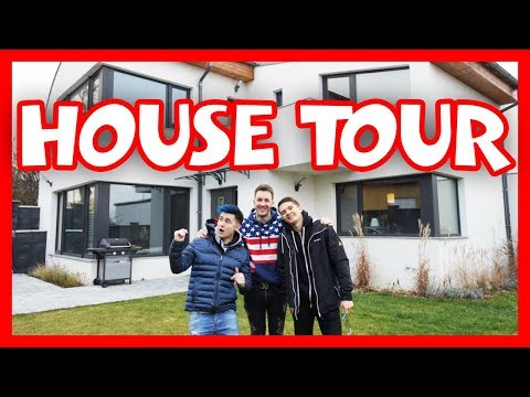 Download Youtube: HOUSE TOUR! Bax + Wedry + House