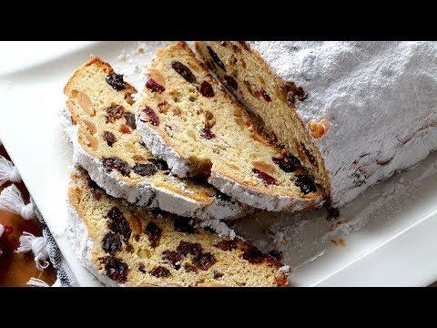 STOLLEN - Pan dulce alemán. Recetas de postres de Navidad