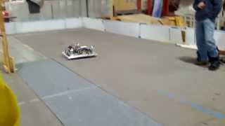 FIRST FRC 2013 Ultimate Ascent: Finished driving base - Arizona Community Robotics 1492